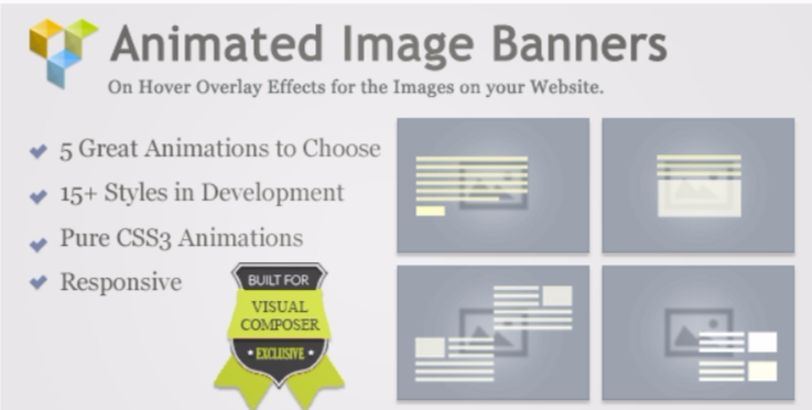 Animated image banners