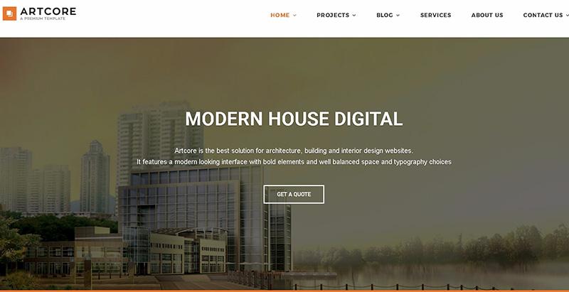 Temas de 10 WordPress para crear el sitio web de su empresa ...