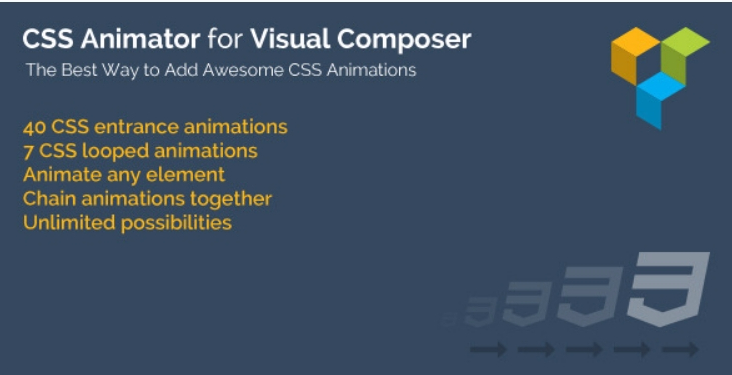 Css animator for visual composer 1