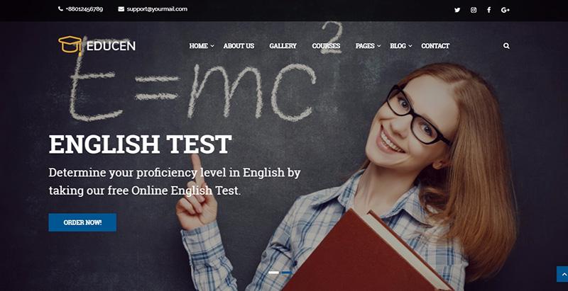 Educen themes wordpress creer site internet e learning universite college ecole