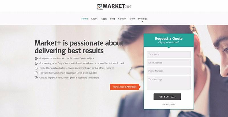 Marketplus Themes Wordpress Creer Site Web Agence Marketing 1