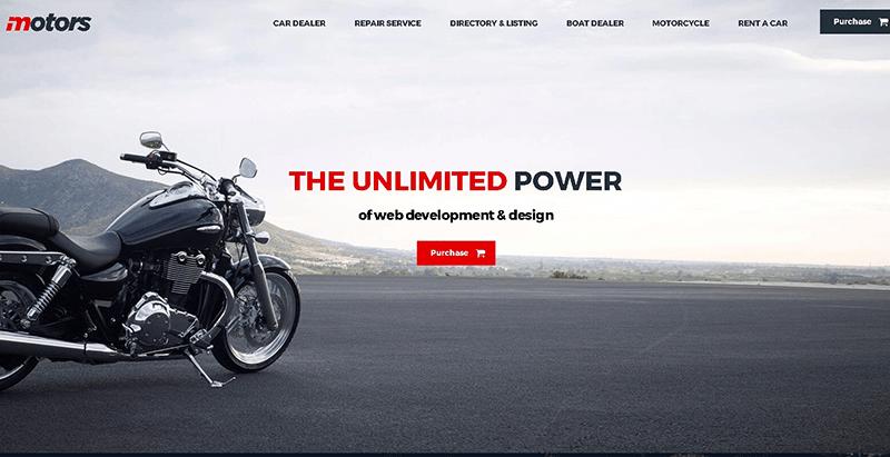 Motors themes wordpress создать сайт электронной коммерции интернет-магазин купить продать