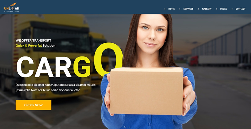 10 Thèmes WordPress Pour Créer Un Site Internet Pour Une Entreprise De Transport