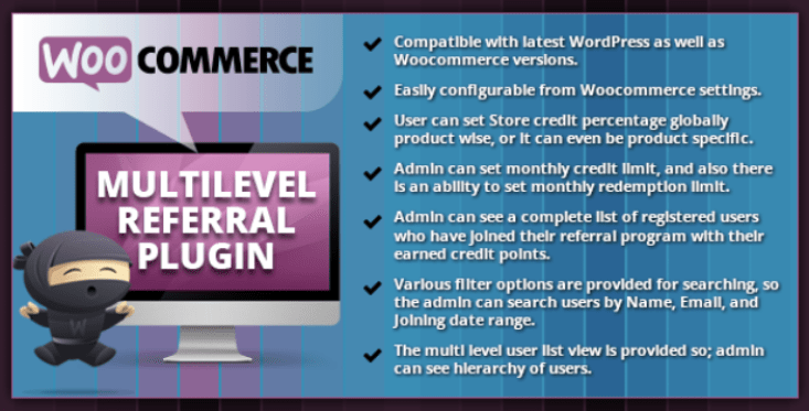 Woocommerce multilevel referral plugin