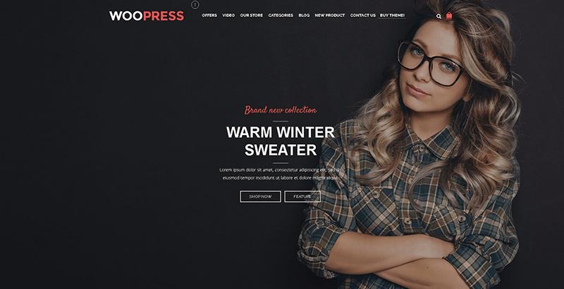Темы woopress wordpress создать сайт электронной коммерции интернет-магазин купить продать
