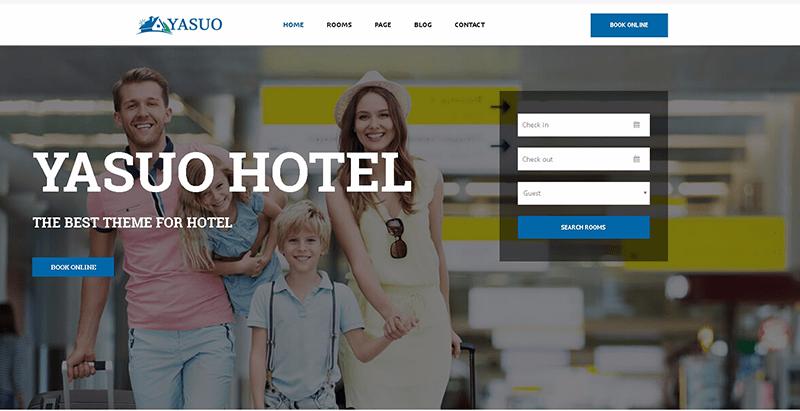 Temas de 10 WordPress para crear un sitio web de hotel   BlogPasCher