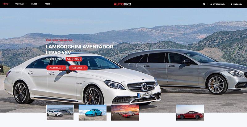 Autoprothemes wordpress creer site internet concessionnaire automobile garage mecanicien