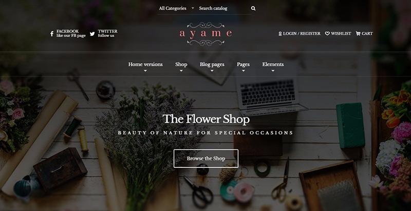 Temas de 10 WordPress para crear cualquier tienda en línea | BlogPasCher