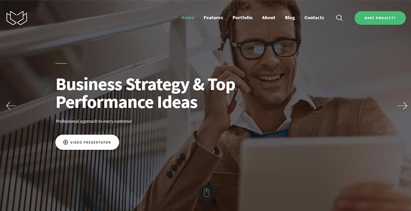 Temas de 10 WordPress para crear su sitio web empresarial | BlogPasCher