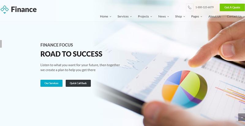 Temas de 10 WordPress para crear un sitio web de seguros   BlogPasCher