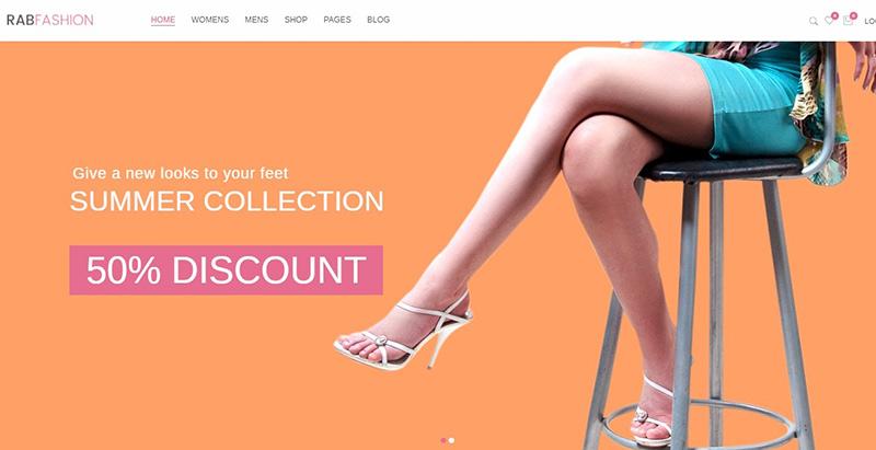 Rab themes wordpress creer site e commerce boutique en ligne store