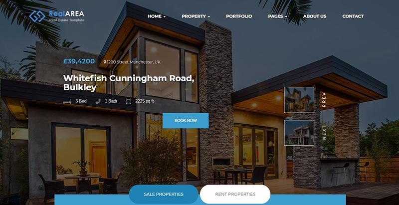 10 thèmes WordPress pour créer un site internet d'entreprises immobilières