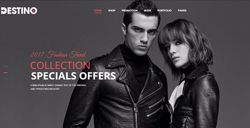 Destino themes wordpress creer site ecommerce boutique en ligne
