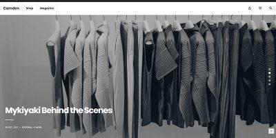 Camden Themes Wordpress Criar site Ecommerce Loja Online