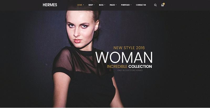 Hermes themes wordpress creer boutique en ligne site ecommerce vente