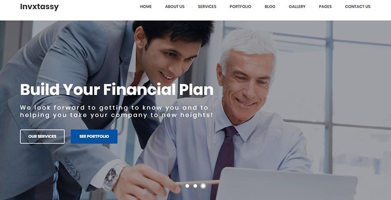 Invxtassy themes wordpress creer site internet entreprise business