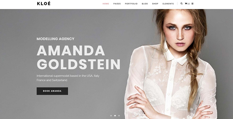 Kloe themes wordpress creer site web top model mode