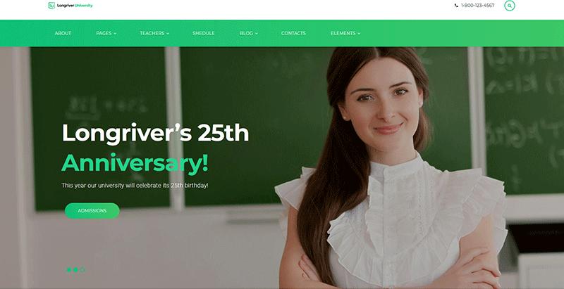 10 Temas de WordPress para crear un sitio web académico | BlogPasCher