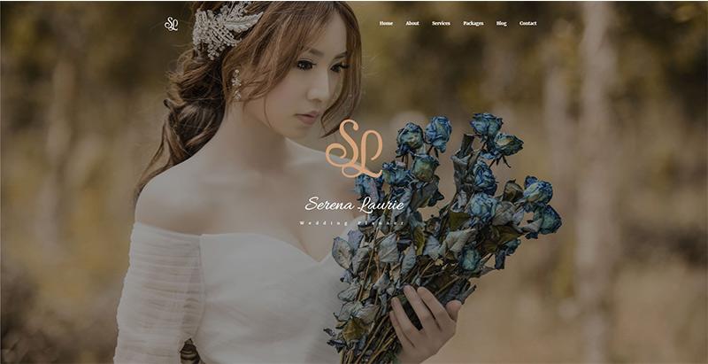 Lovus themes wordpress creer site internet fiançailles mariage