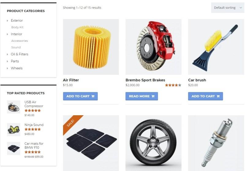 Motors e commerce