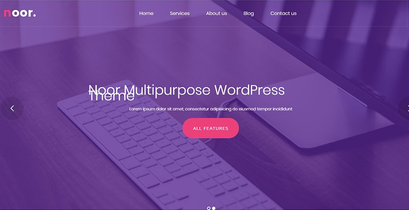 Noor Themes Wordpress Creer Site Web Agence Marketing Entreprise