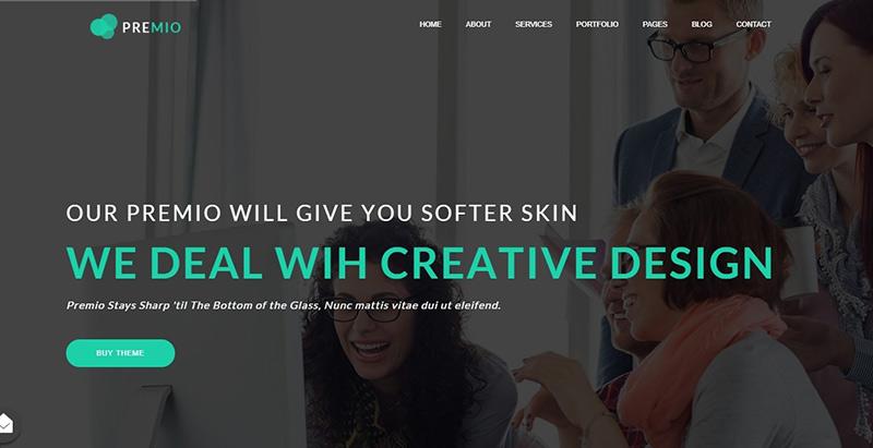 Premio themes wordpress creer site internet entreprise business