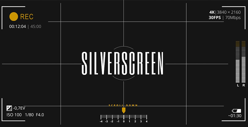 Silverscreen themes wordpress criar site cinema filme vídeo