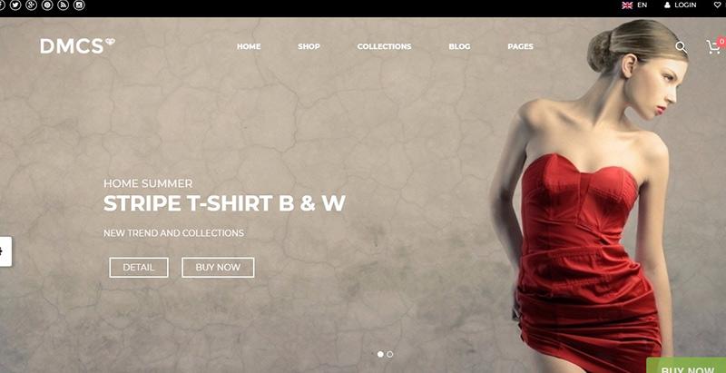 The dmcs themes wordpress creer boutique en ligne site ecommerce vente