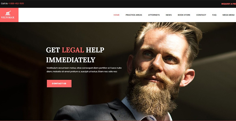 Viltorax themes wordpress creer site internet entreprise business