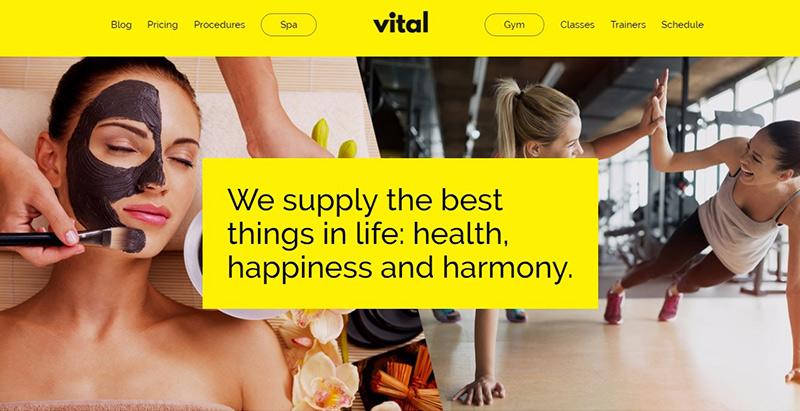 Wichtige Themen WordPress erstellen Website Internet Spa Salon Massage