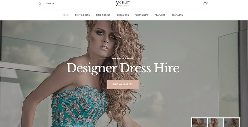 Your dress themes wordpress creer site web top model mode