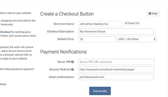 bitpay yapılandırması button.png