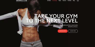 Ester Themes Wordpress Creer Site Internet Club Gym Fitness Sport