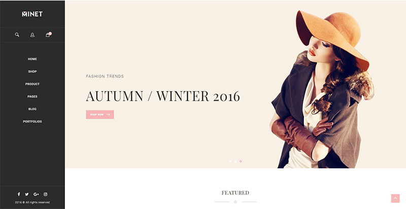 Minet themes wordpress creer site ecommerce boutique en ligne