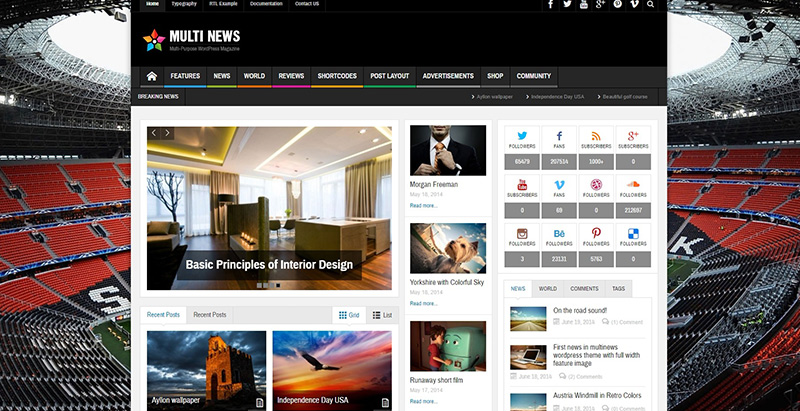 Multinews themes wordpress creer site internet communautaire forum bbpress