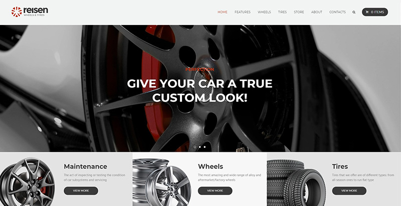 10 th mes wordpress pour cr er un site web de garage for Comment ouvrire un garage automobile