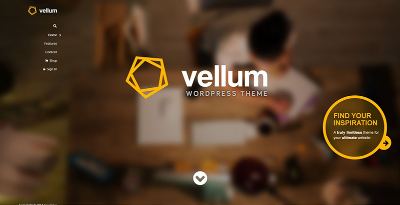Vellum themes wordpress creer site internet communautaire forum bbpress
