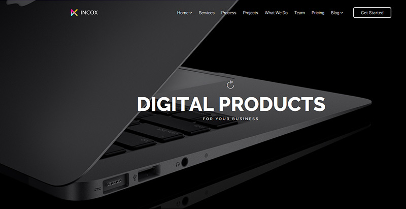 Incox themes wordpress creer site web start up entreprise agence