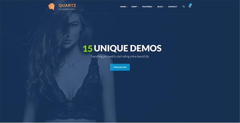 Ri quartz themes wordpress creer boutique ligne site web