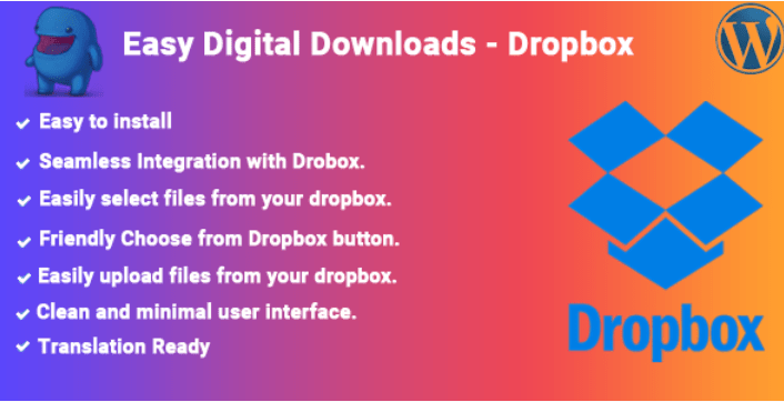 Easy Digital Downloads Dropbox
