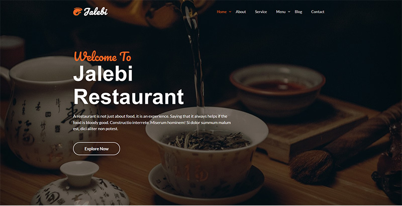 Jalebi themes wordpress premium creer site web hotel motel