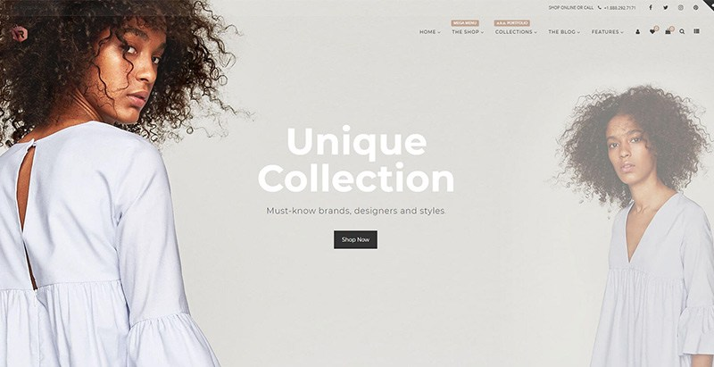 Rigid themes wordpress creer site web vente vetements mode