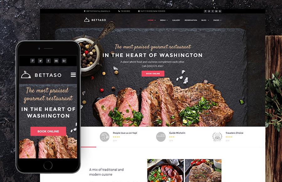 Tema BBQ Restaurant WordPress