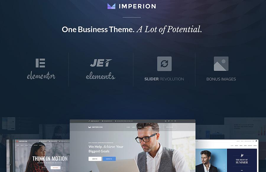 Thème WordPress Marketing Business