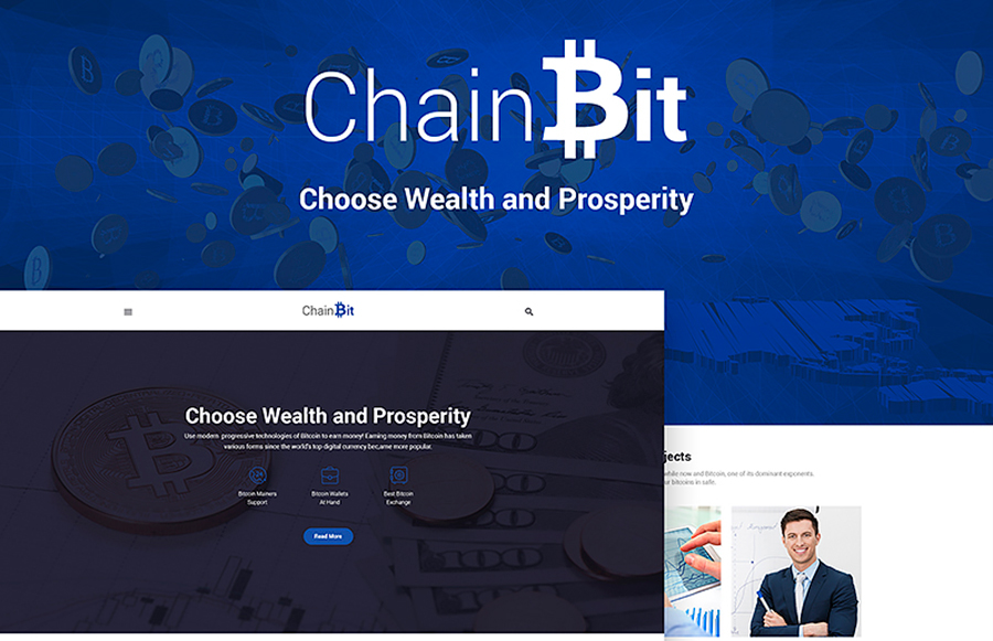ChainBit - Tema WordPress Bitcoin