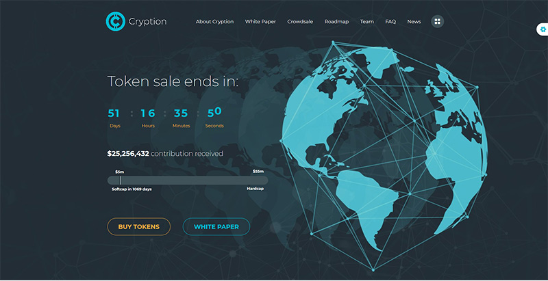 Cryption Themes Wordpress Creer Site Web Entreprise Cryptomonnaies