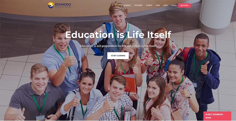 Edumodo themes wordpress creer site web e learning education enseignement