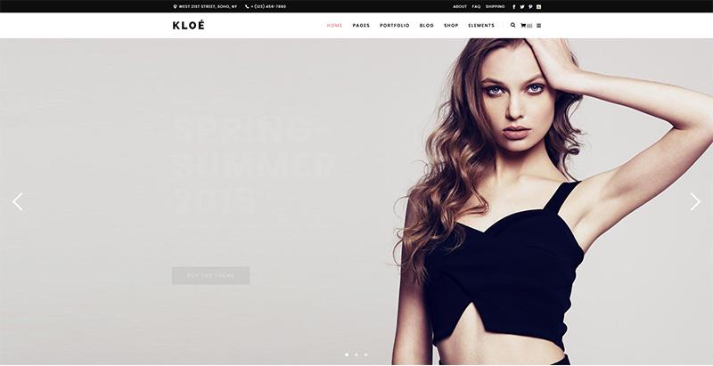 Kloe themes wordpress woocommerce creer site web e commerce 1
