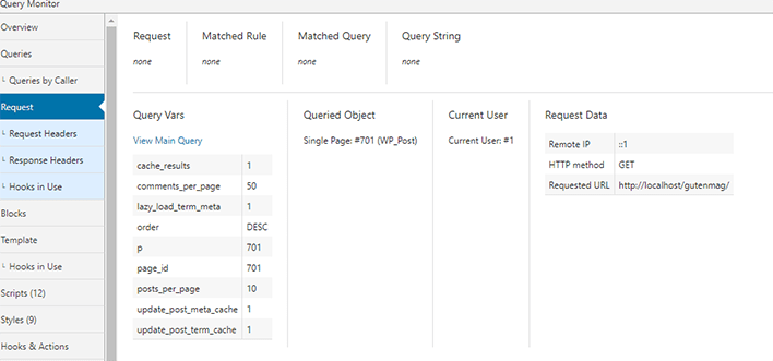 Plugin wordpress query monitor 4