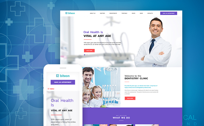 Theme WordPress orthodontiste